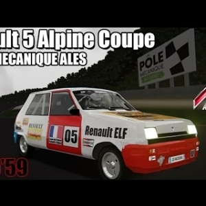 POLE MECANIQUE ALES : Renault 5 Alpine Coupe [ASSETTO CORSA]