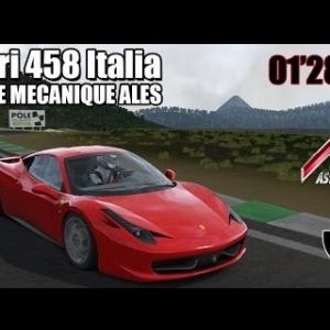 POLE MECANIQUE ALES : Ferrari 458 Italia [ASSETTO CORSA]