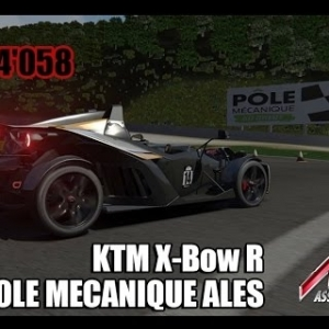POLE MECANIQUE ALES : KTM X-Bow R [ASSETTO CORSA]