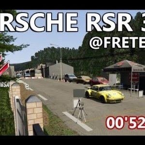 ASSETTO CORSA : Porsche RSR 3.0 : Course de côte de Fréteval