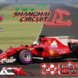 Assetto Corsa 4K * Scuderia Ferrari SF70H * China GP * hotlap