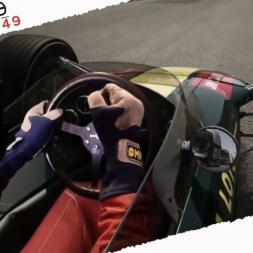Assetto Corsa Mixed Reality Lotus Type 49 Onboard Cam at Monza 1966 Full