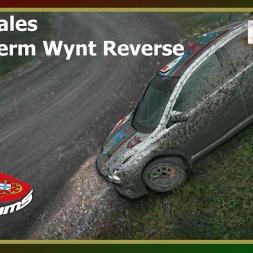 Dirt Rally - PTSims Rally Series 2017 - Rally Wales - SS13 Fferm Wynt Reverse