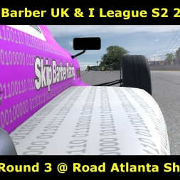 iRacing - Skip Barber UK and I League Season @ Road Atlanta