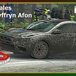 Dirt Rally - PTSims Rally Series 2017 - Rally Wales - SS17 Dyffryn Afon
