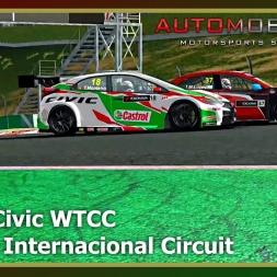 Automobilista - Honda Civic WTCC  - Algarve Internacional Circuit