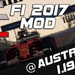 Assetto Corsa | ACFL F1 2017 MOD | Ferrari SF70-H | Hotlap Australia | 1.19,825