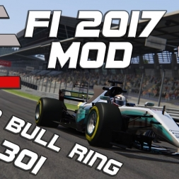 Assetto Corsa | ACFL F1 2017 MOD | Mercedes W08 | Red Bull Ring | 1.04,301