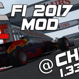 Assetto Corsa | ACFL F1 2017 MOD | Red Bull RB13 | China | 1.33,477