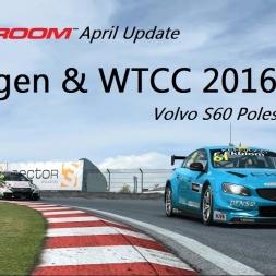 Let's Play - RaceRoom Racing Experience - April Update - Flaggen und WTCC 2016