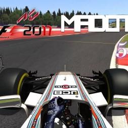 F1 2017 - ACFL Car By Car - #5 Williams Martini Racing FW40 - Felipe Massa - T-CAM & TV VIEW!