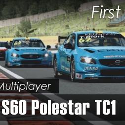 RaceRoom [R3E] - Online - Volvo S60 Polestar TC1 - Hungaroring