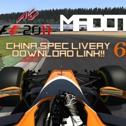 F1 2017 - ACFL Car By Car - #6 McLaren Honda MCL32 - Fernando Alonso + CHINA SPEC DOWNLOAD!
