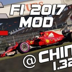 Assetto Corsa | ACFL F1 2017 MOD | Ferrari SF70-H | China | 1.32,710