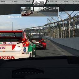 RaceRoom RE: Honda Civic WTCC 2014 @ Indianapolis Moto (RD club race)