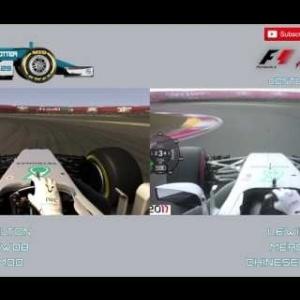 F1 2017 - Lewis Hamilton Chinese GP Pole Lap VS ACFL 2017 Mod - Mercedes W08 - Shanghai, China