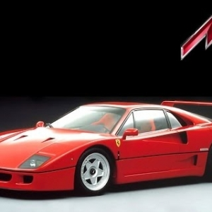 RWD Drift Practice: The Ferrari F40