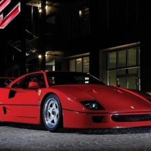 Assetto Online: Ferrari F40 around Highlands!