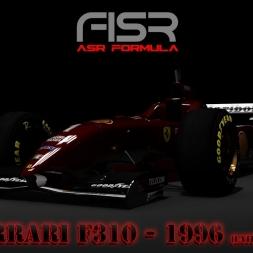 Assetto Corsa * ASR Formula * Ferrari F310 1996 [late sesion]