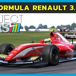 PCars - Formula Renault 3.5 V8 at Silverstone (PT-BR)