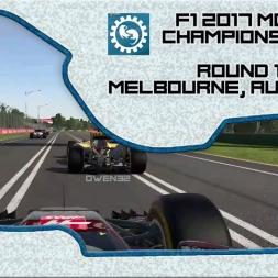 F1 2017 (mod) - ROUND 1 - Owen32 & madotter Online Co-op Championship