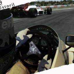 Assetto Corsa Mixed Reality Ayrton Senna Lotus 99T Skin 1987 Onboard Cam at Estoril