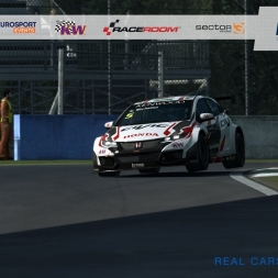 R3E - eWTCC Honda Civic at Monza - 1:49.922