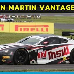 Aston Martin Vantage GT3 at Oulton Park (PT-BR)