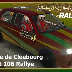 Sébastien Loeb Rally Evo - Vignoble de Cleebourg - Peugeot 106 Rallye