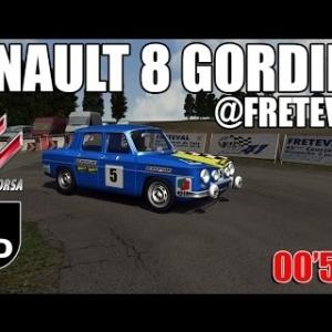 ASSETTO CORSA : Renault  Gordini : Course de côte de Fréteval