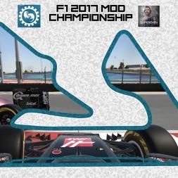 F1 2017 (mod) - ROUND 3 - Bahrain - Owen32 & madotter Online Co-op Championship