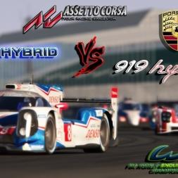 Assetto Corsa * Toyota TS040 vs. Porsche 919 [WEC 2015]