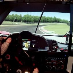 GT2 drift control at Mugello...