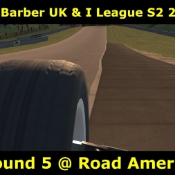 iRacing - Skip Barber UK and I League - Round 5 @ RoadAmerica