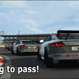 Raceroom online: Pushing to pass! (Audi TT Cup @ Nurburgring GP)