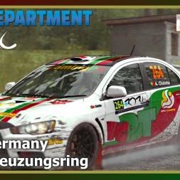 Dirt Rally - RDRC 08 - Rally Germany - SS03 Kreuzungsring