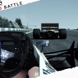 Assetto Corsa Mixed Reality EPIC ONBOARD TURBO BATTLE at Donington Park