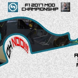 F1 2017 (mod) - ROUND 4 - Russia - Owen32 & madotter Online Co-op Championship