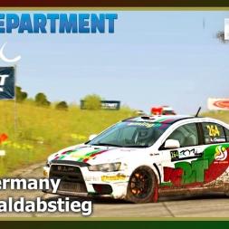 Dirt Rally - RDRC 08 - Rally Germany - SS04 Waldabstieg