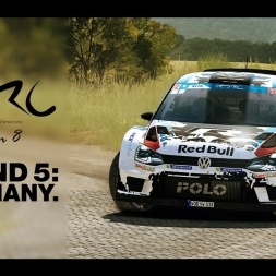 Rally Germany: RDRC Season 8 Round 5 | Day 1 | Stages 1 - 4