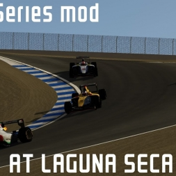 Assetto Corsa VR: ASR3 at Laguna Seca (WIP) Mod