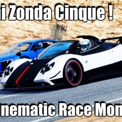 Pagani Zonda Cinque mod - Cinematic Race Montage gbW Graphics mod