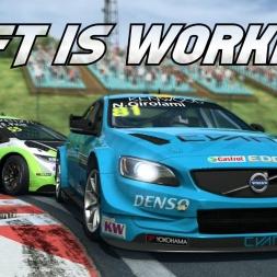 Got the Oculus Rift working with RaceRoom! Volvo Polestar Hungaroring