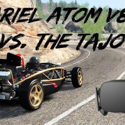 Ariel Atom V8 vs. The Tajo - Assetto Corsa Oculus Rift gameplay