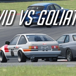 David AE86 vs Goliath - Assetto Corsa Trackday Tuesdays #58 Oculus Rift Gameplay