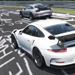 [Oculus Rift] AMAZING Porsche Nordschleife Trackday - Assetto Corsa Gameplay / 911 GT3 RS / 911 RSR