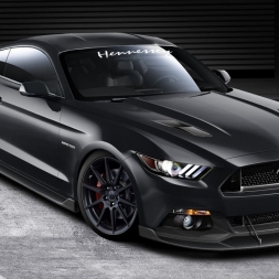 Assetto Mods: Hennessy Mustang around LA Canyons!
