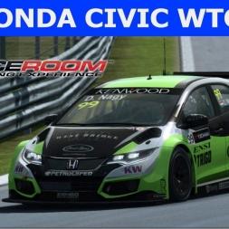 Raceroom - Honda Civic WTCC 2016 at Monza (PT-BR)