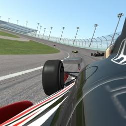 Race Department rFactor 2 Indy Car testing at Barber Motorsport