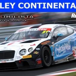 Bentley Continental GT3 at Rockingham (PT-BR)